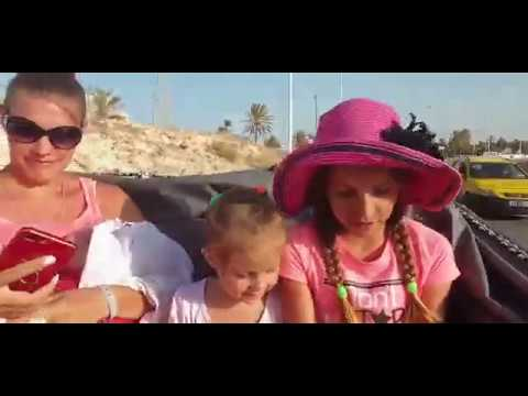 Тунис.остров Джерба 2019. Всей семьёй катаемся на карете!