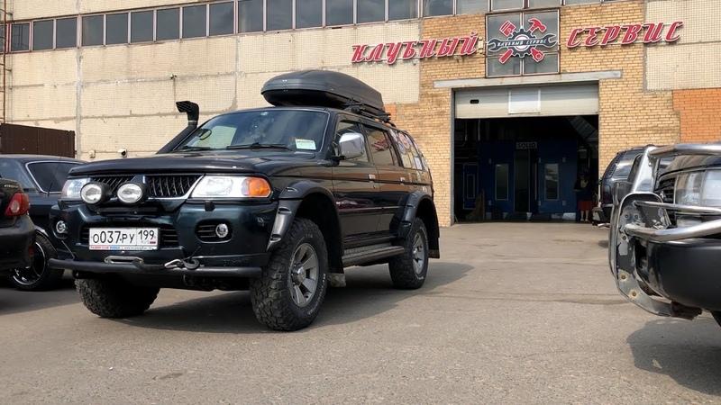 Mitsubishi Pajero Sport Легендарный внедорожник доступный каждому