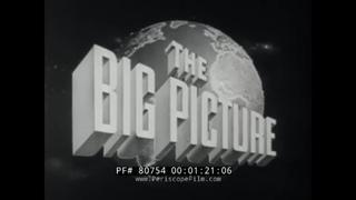 "U.S. ARMY TV SHOW "" THE BIG PICTURE - THE COBRA STRIKES ""   KOREAN WAR 1950-53  80754"
