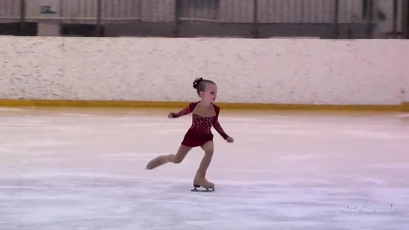 Ольга Кинцурашвили юный фигурист февраль 2019