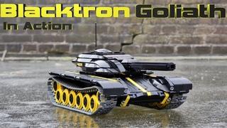LEGO RC Blacktron Goliath Heavy Tank in Action