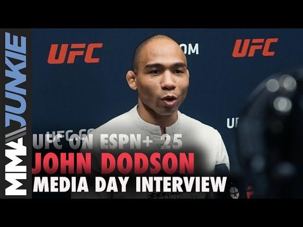 UFC on ESPN 25 John Dodson media day interview