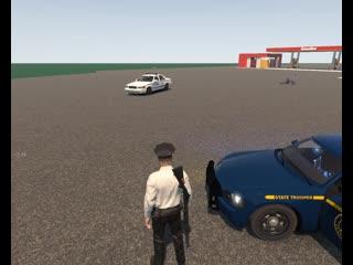 Полицейские Нью-Йорка отвечают кодом 3 на вызов об грабеже магазина! [Flashing Lights]