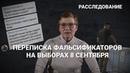 Вся королевская рать. Переписка фальсификаторов на выборах 8 сентября