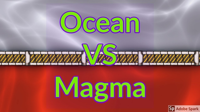 Subsurface Ocean Vs Magma Biome Oxygen not included