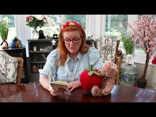 Sarah Ferguson reading Penelope Strawberry and Roger Radish by Jayne Fisher