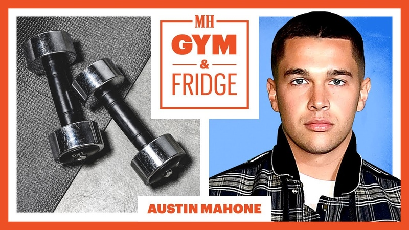 Austin Mahone Shows His Gym Fridge and Sick Sneaker Collection Gym Fridge Men's Health