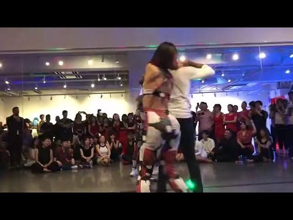 Daniel y Desire Terry y Cecile King Queen Festival Tokyo