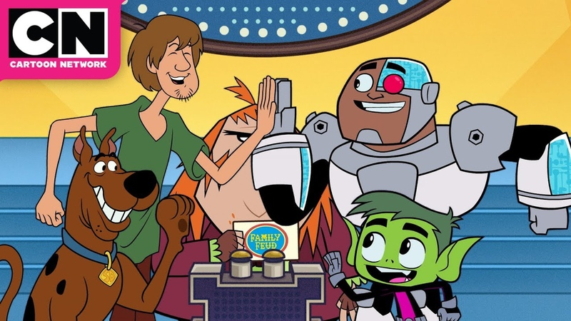 Zoinks! It's Family Feud! | Teen Titans Go! | Cartoon Network