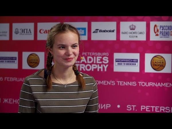 Анна Галенко WTA Ladies Trophy 2020