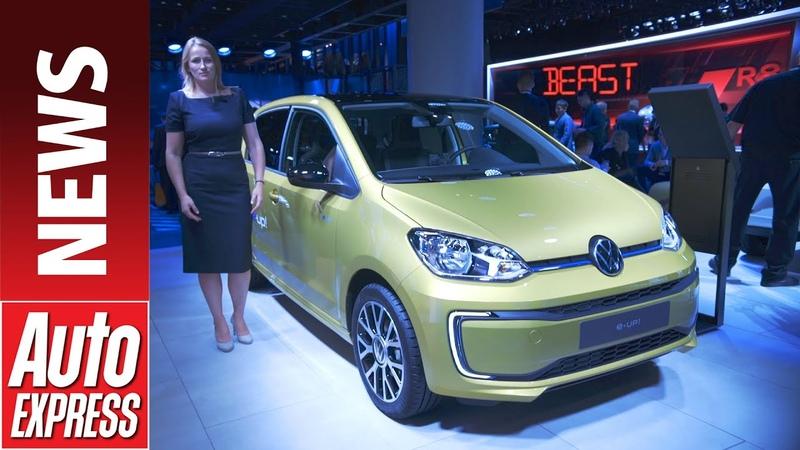 New 2020 Volkswagen e-up! - tiny electric city car gets big tech upgrade