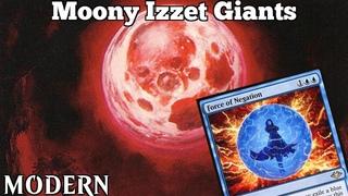 Moony Izzet Giants | Modern [MTGO] | Blue Red Giants | Modern