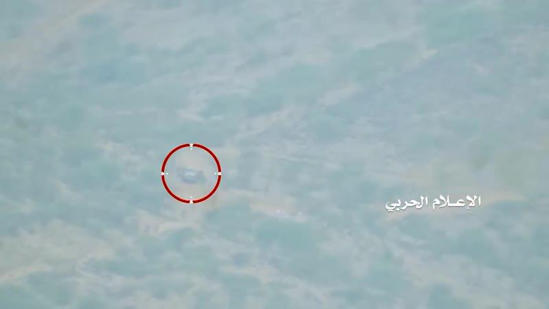 Хуситы уничтожили из ПТРК пикап с наёмниками в Джизане