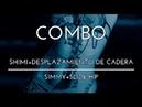 COMBO SHIMI DESPLAZAMIENTO DE CADERA PASOS BÁSICOS DANZA ARABE TRIBAL FUSION