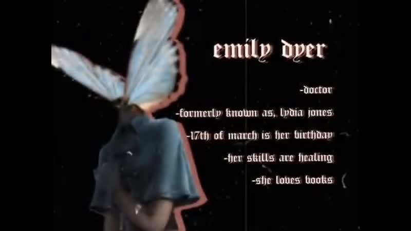 Identity v \\ vine edit \\ emily dyer