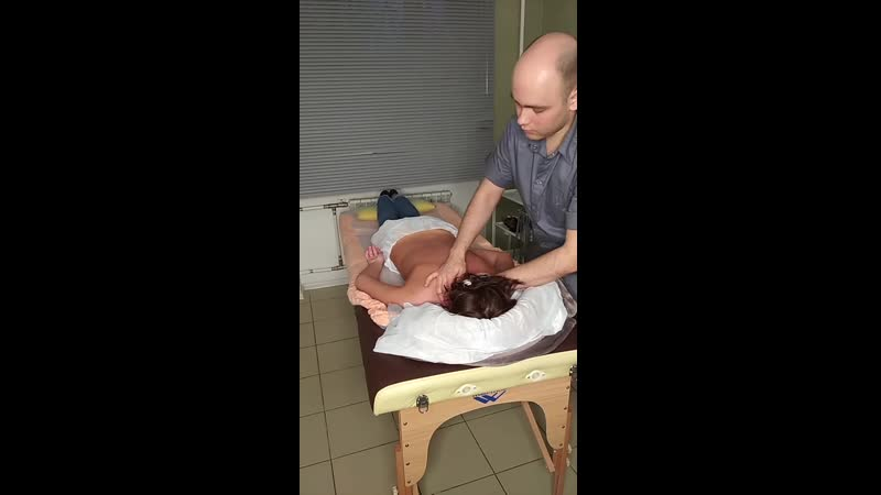 Массаж спины Massage of back