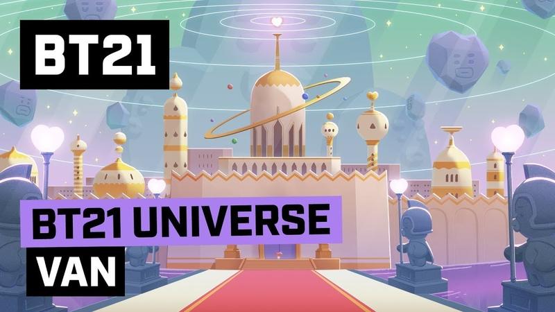 [BT21] BT21 UNIVERSE ANIMATION EP.01 - VAN