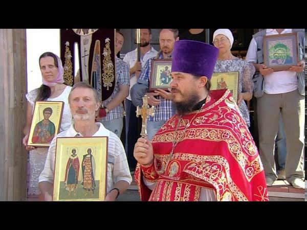 В Екатеринбурге почтили память первых русских святых благоверных князей Бориса и Глеба
