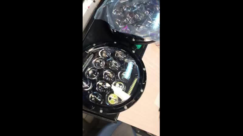 Диодные LED фары НИВА 21214 Урбан