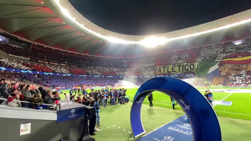 Intro Wanda Metropolitano Atletico de Madrid Liverpool Experiencia Banquillo