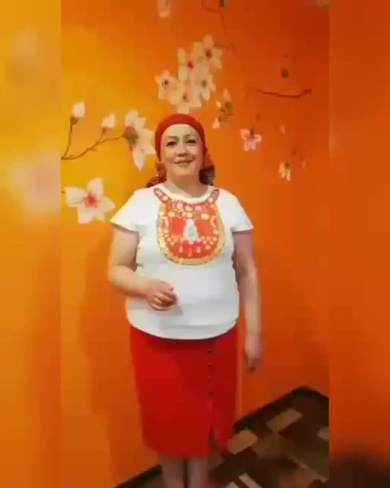 Видеомастер-класс Темясовского ИКМ по изготовлению украшения на футболки в виде башкирского нагрудника