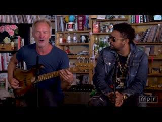 Sting And Shaggy - NPR Music Tiny Desk Concert