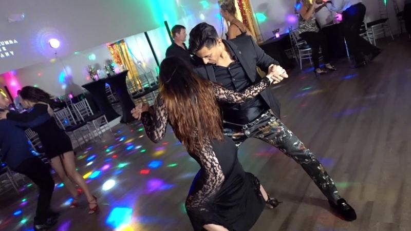 Tremenda Bailarina Sexy Beautiful Salsa Dance by Nery Garcia Azeeria
