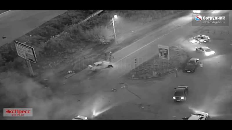 Появилось видео погони за водителем, который насмерть сбил девушку в Бийске