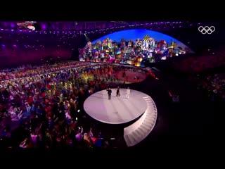 Cidade Maravilhosa. Церемония открытия Рио-2016