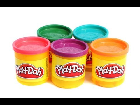 Unboxing Play Doh Fun with creating shapes and numbers