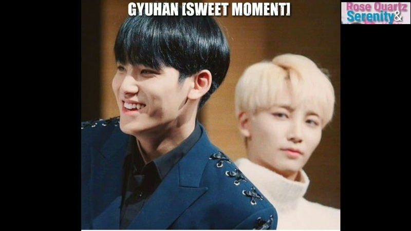 SPECIAL SWEET MOMENT 세븐틴 MINGYU JEONGHAN GYUHAN Part5