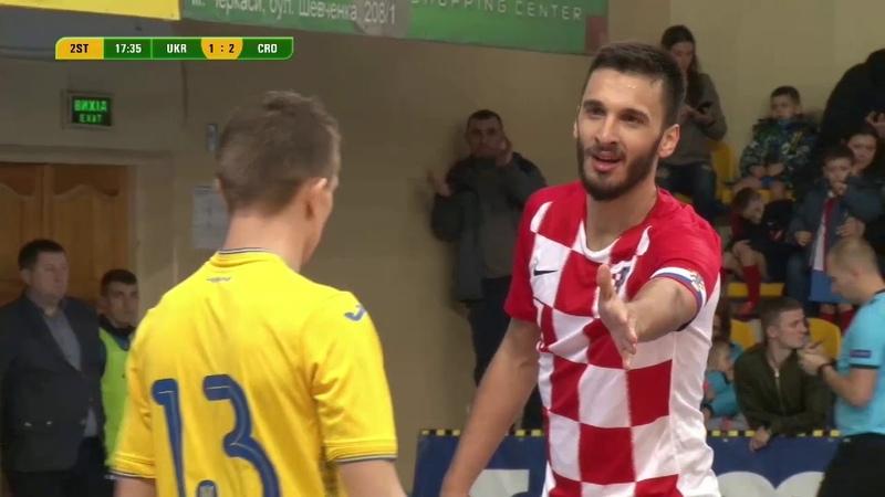 Highlights | Україна 34 Хорватія | Товариська зустріч №2
