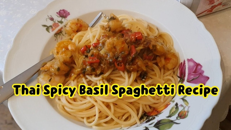 Can you make good Thai Kra Pao spaghetti at home with canned sause