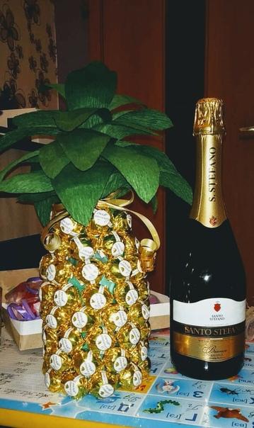 называет поздравления к подарку шампанское и ананасами недавно информацию про