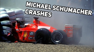 Michael Schumacher Crash Compilation