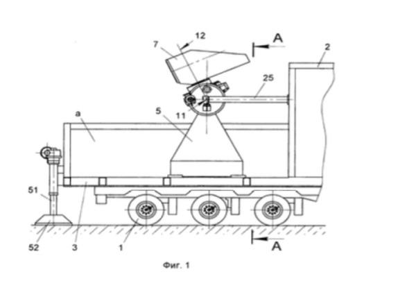Чертеж из патента РФЯЦ-ВНИИЭФ 2015 года на то, что было описано как «мобильный оптический телескоп».
