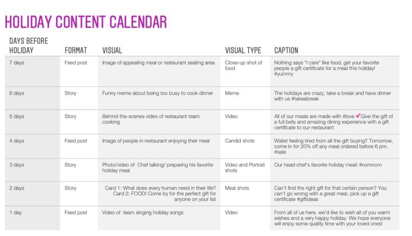 Как планировать контент для Instagram на период праздников?, изображение №1