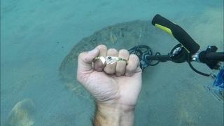 🌊💍🐙⭐️Находки под водой. Нашёл Золотой Браслет!  Осьминог. Звезда. Золотые находки. Подводный коп.