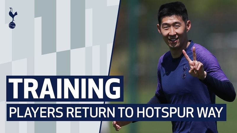 TRAINING | SPURS PLAYERS RETURN TO WORK AT HOTSPUR WAY
