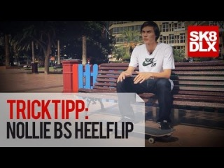 Skateboard Trick Tipp   How To Nollie BS Heelflip mit Denny Pham   skatedeluxe Skate Team  !!!