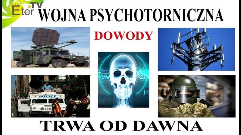 WOJNA PSYCHOTRONICZNA TRWA ETER TV