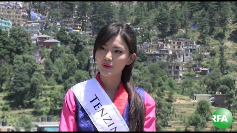 Miss Tibet 2014 Tenzin Yangzom