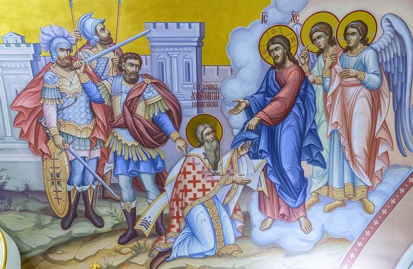 Священномученик Харалампий в нашем храме, изображение №7