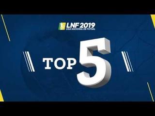LNF2019 - TOP 5 - Gols - 1ª Rodada