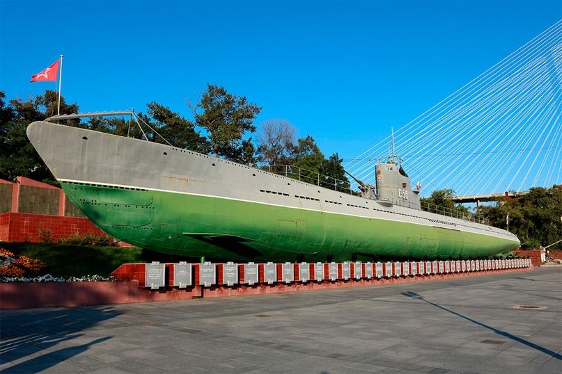 Корабль-музей «Гвардейская краснознаменная подводная лодка «С-56»