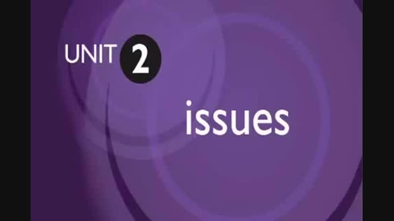 Upper Intermediate Podcast_Unit_2_Issues