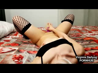 Feeling lonely...comforted by big dildo in the ass and a lovely orgasm Pornhub Virginia Darlyng