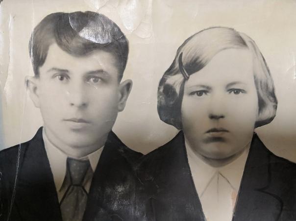Колпаков Дмитрий Федорович с женой Натальей Яковлевной