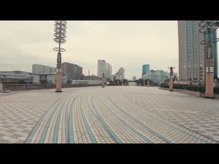 Tokyo Cycling Tour Odaiba To Kasairinkai Park  Bike Ride POV - 4K 60fps