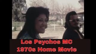 LOS PSYCHOS MOTORCYCLE CLUB     REDLANDS COOKOUT    1970s HOME MOVIE 16964